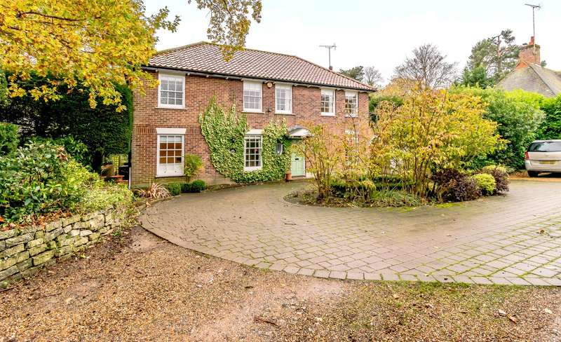 4 Bedrooms Detached House for sale in Knipp Hill, Cobham, KT11