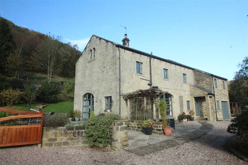 4 Bedrooms Detached House for sale in The Old Coach House, Lower Lee, Hebden Bridge