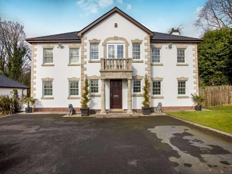 4 Bedrooms Detached House for sale in Preston New Road, Samlesbury, Preston, Lancashire, PR5