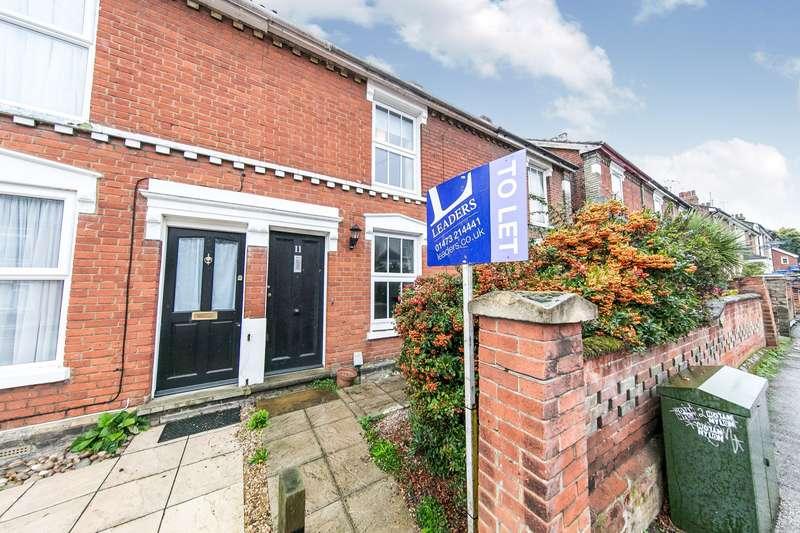 2 Bedrooms Terraced House for rent in Nottidge Road, Ipswich