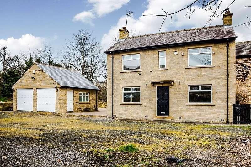 3 Bedrooms Detached House for sale in Leeds Road, Bradley, Huddersfield, West Yorkshire, HD5