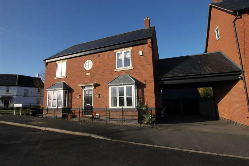 4 Bedrooms Detached House for sale in Armitage Drive, Rothley
