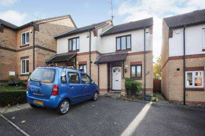 2 Bedrooms End Of Terrace House for sale in Lorimer Close, Luton, Bedfordshire, England