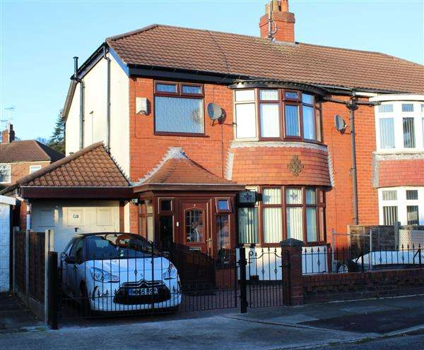 3 Bedrooms Semi Detached House for sale in Gore Avenue, Manchester