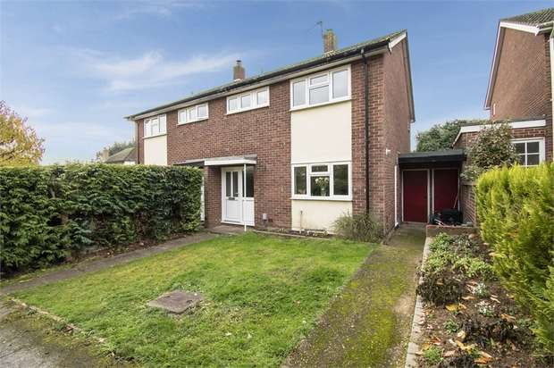 3 Bedrooms Semi Detached House for sale in Hertford Road, Hoddesdon, Hertfordshire