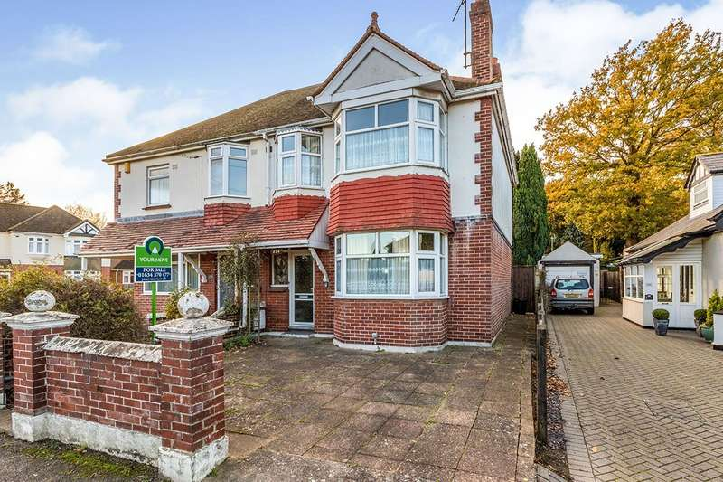 3 Bedrooms Semi Detached House for sale in Edwin Road, Gillingham, Kent, ME8