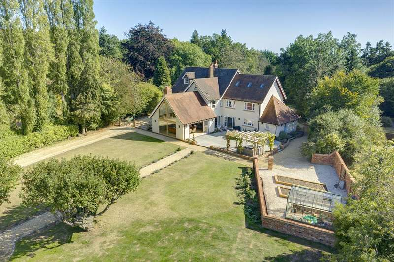 6 Bedrooms Detached House for sale in Mill Lane, Kidmore End, Reading, RG4