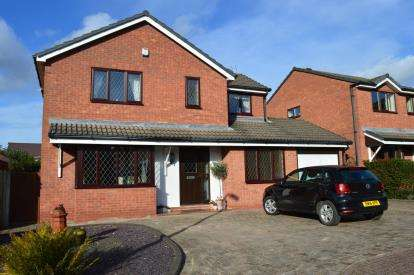 4 Bedrooms Detached House for sale in The Woodlands, Off Wissage Road, Lichfield, Staffordshire