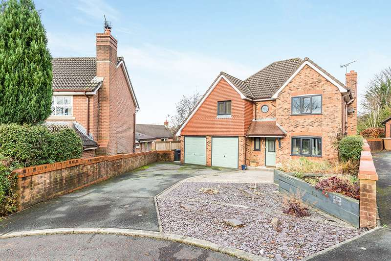 4 Bedrooms Detached House for sale in Kestrel Close, Heapey, Chorley, Lancashire, PR6