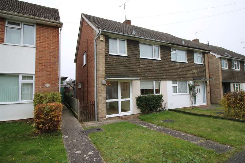 3 Bedrooms Semi Detached House for sale in Greencroft Gardens, Reading