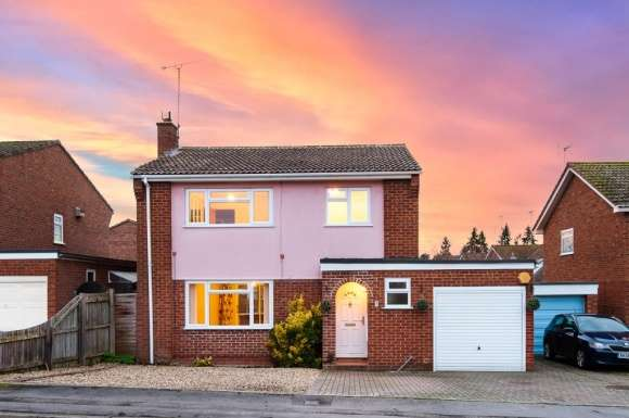 4 Bedrooms Detached House for sale in Kempton Close, Newbury, RG14