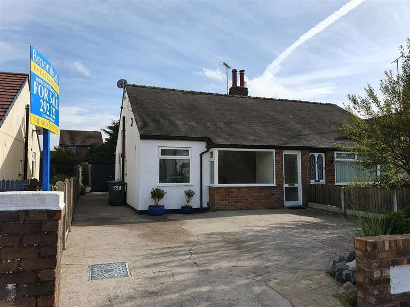2 Bedrooms Semi Detached Bungalow for sale in North Drive, Thornton, FY5 2PE