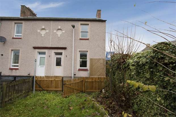 2 Bedrooms End Of Terrace House for sale in Louisa Square, Rosewell, Midlothian