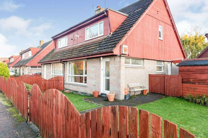 3 Bedrooms Semi Detached House for sale in Thornhill Place, Forres, Moray, IV36