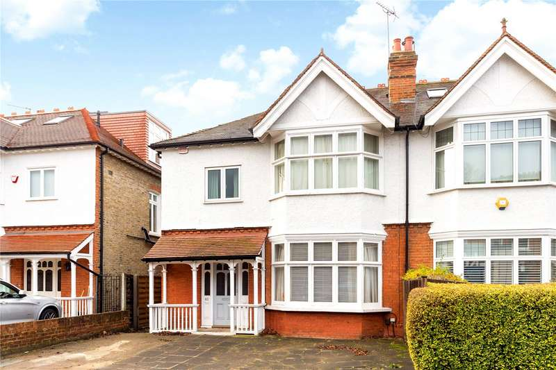 4 Bedrooms Semi Detached House for sale in Sheen Park, Richmond, TW9