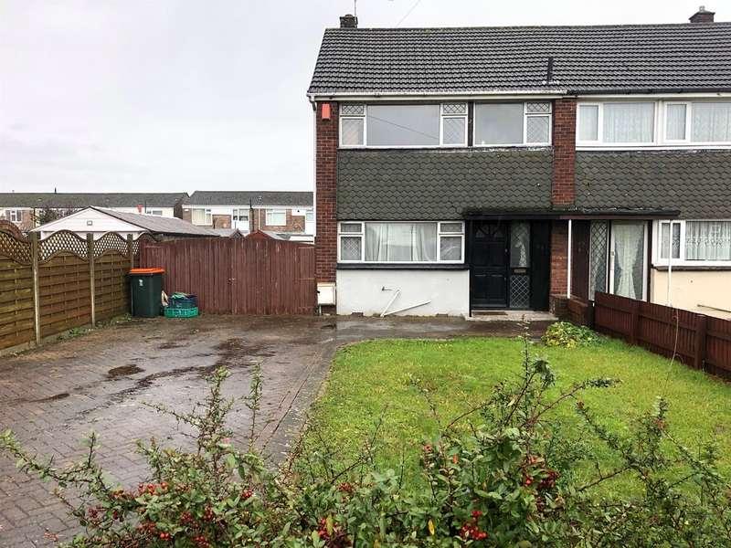 3 Bedrooms Semi Detached House for sale in Greenmeadow Road, Newport
