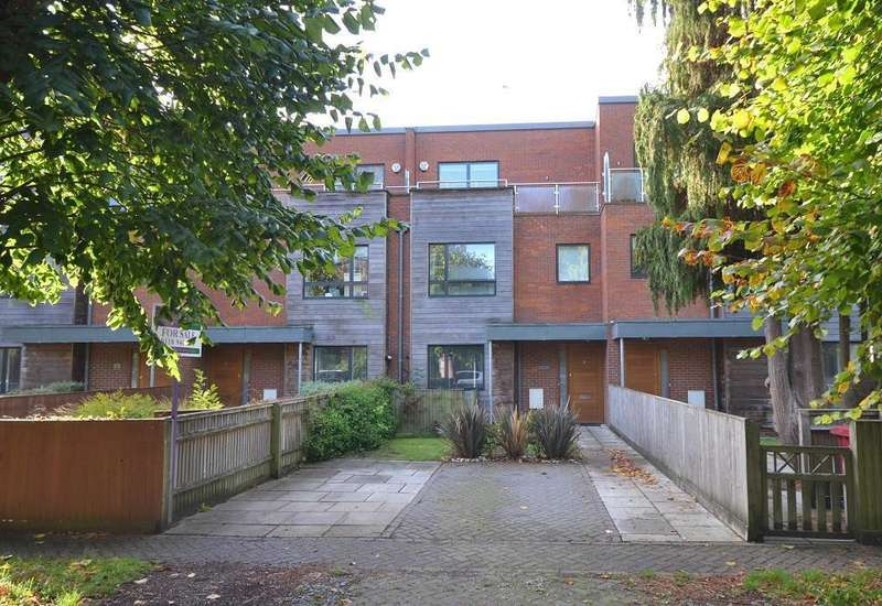 4 Bedrooms Town House for sale in Derby Villas, Derby Road, Caversham, Reading