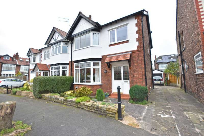 3 Bedrooms Semi Detached House for sale in Seymour Road, Cheadle Hulme