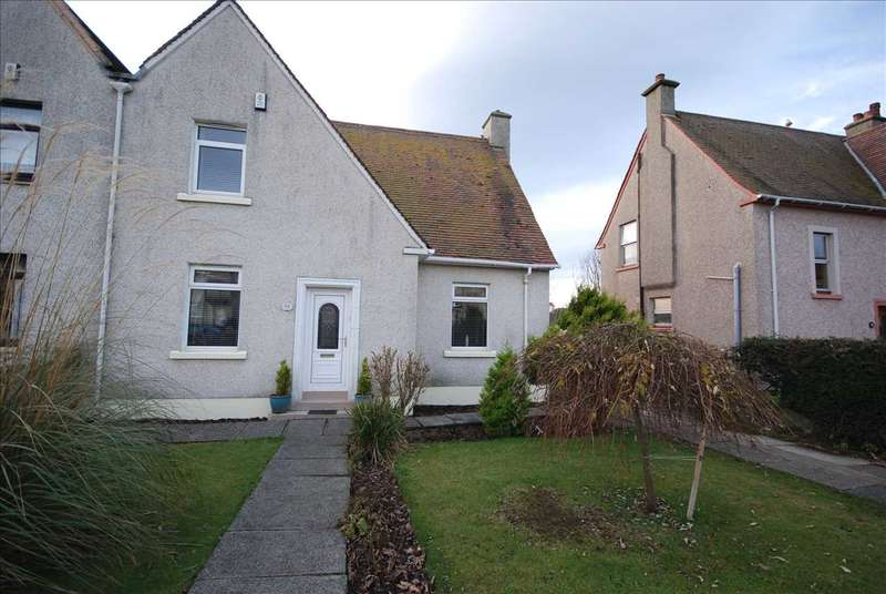 3 Bedrooms Semi Detached House for sale in Auchenharvie Road, Saltcoats