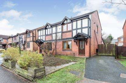 3 Bedrooms Semi Detached House for sale in Stratfield Place, Leyland, Lancashire, PR25