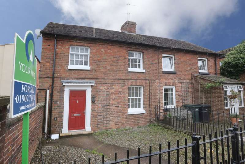 2 Bedrooms Semi Detached House for sale in Shrewsbury Road, Shifnal, Shropshire, TF11