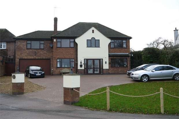 4 Bedrooms Detached House for sale in Great Bowden Road, Market Harborough, Leicestershire