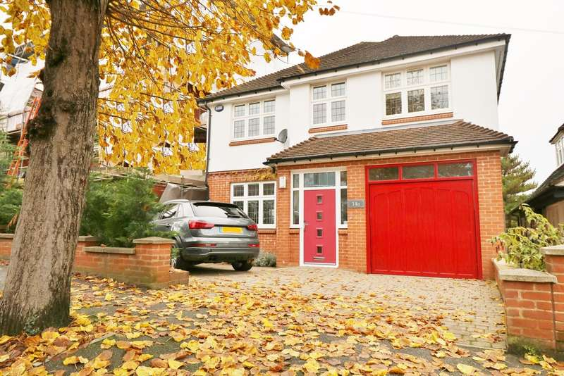 4 Bedrooms Detached House for sale in Penwortham Road, South Croydon