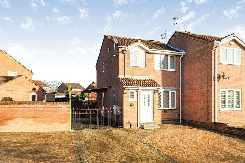 3 Bedrooms Semi Detached House for sale in Belvoir Close, Long Eaton, Nottingham, NG10