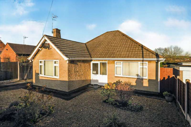 3 Bedrooms Detached Bungalow for sale in Watson Avenue, Heanor, Derbyshire, DE75