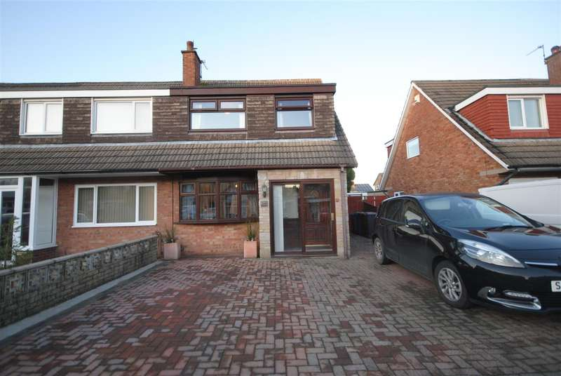 3 Bedrooms Semi Detached Bungalow for sale in Trent Drive, Hindley Green, Wigan