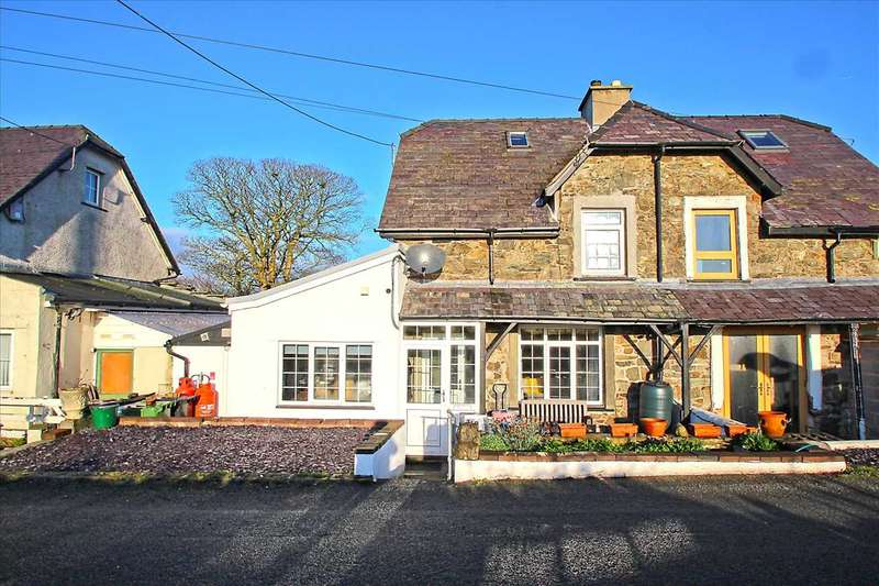 2 Bedrooms Cottage House for sale in Railway Cottages, Llangaffo
