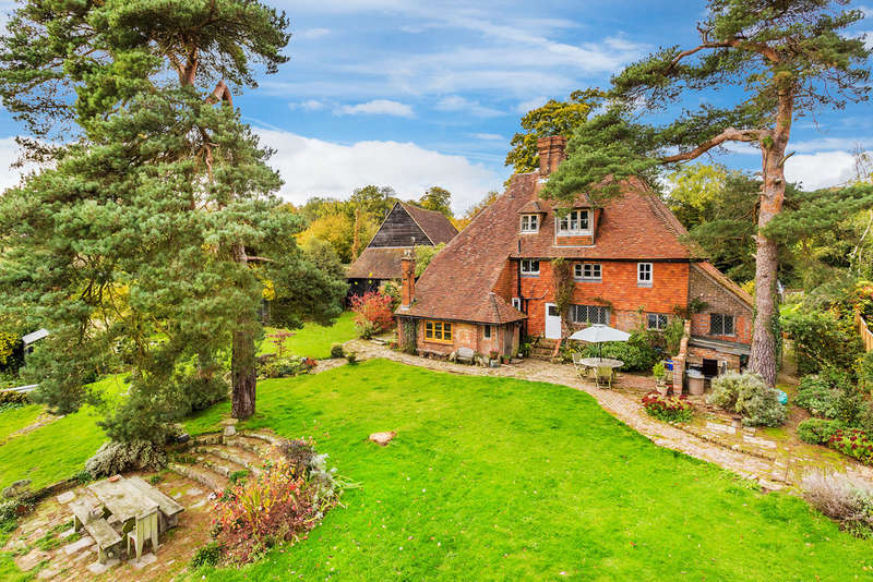 5 Bedrooms Detached House for sale in Chiddingstone Hoath, TN8