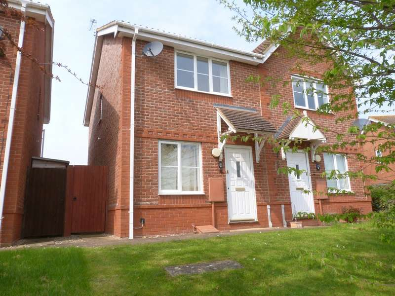 2 Bedrooms Semi Detached House for rent in Malmsey Close, Tewkesbury GL20
