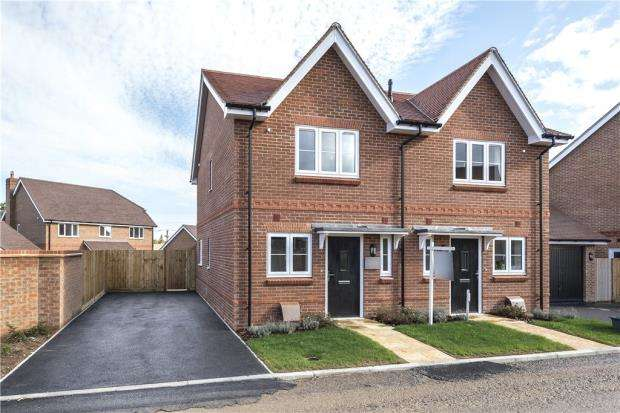 2 Bedrooms Semi Detached House for sale in Centenary Fields, Sherfield Road, Hampshire