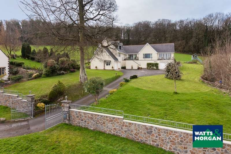 4 Bedrooms Detached House for sale in Wick Road, Ewenny, Vale of Glamorgan, CF35 5BL