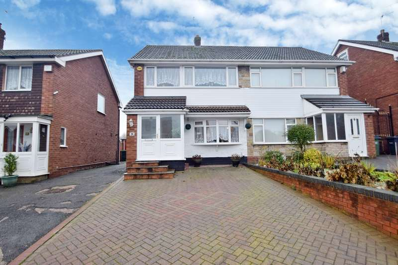 3 Bedrooms Semi Detached House for sale in Andrew Road, West Bromwich, B71
