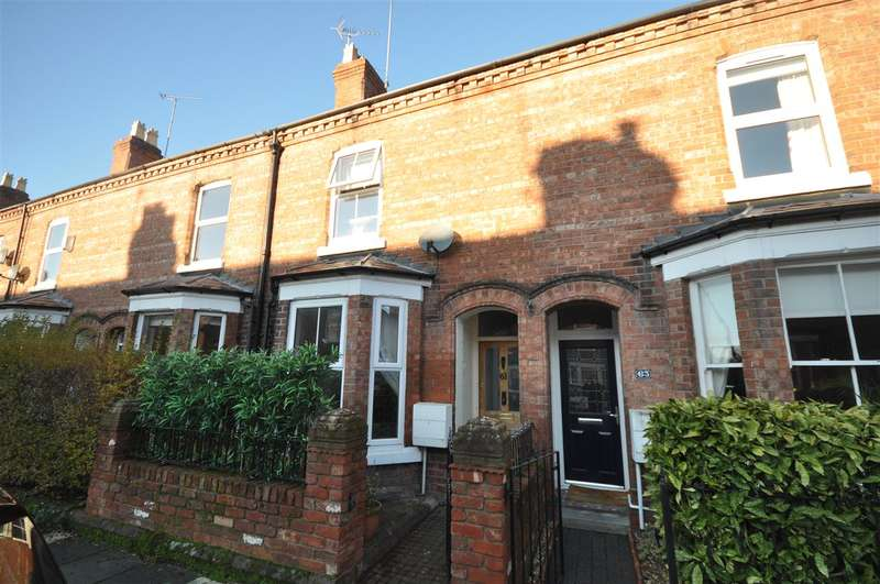 3 Bedrooms Terraced House for sale in Gladstone Avenue, Chester