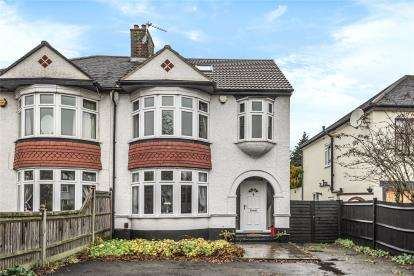 4 Bedrooms Semi Detached House for sale in Station Road, West Wickham