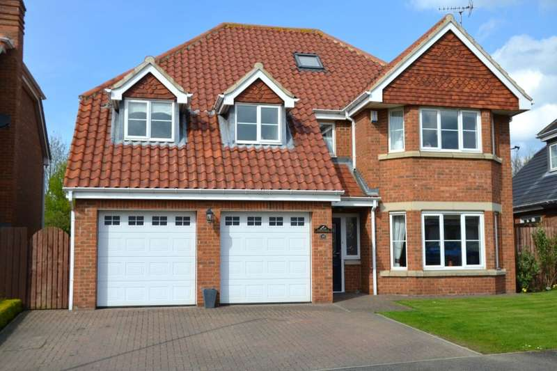 5 Bedrooms Detached House for sale in Monkton Rise, Guisborough, TS14