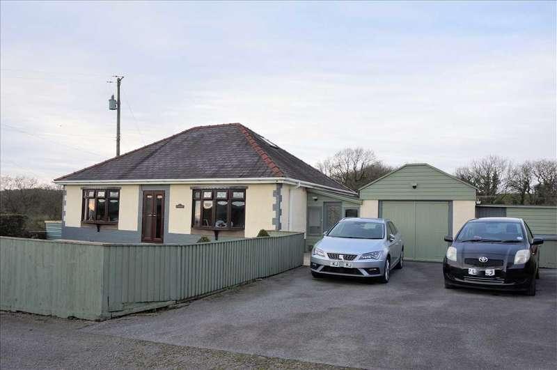 3 Bedrooms Detached Bungalow for sale in Heddfan, Mynyddcerrig Road, PONTYBEREM, Llanelli