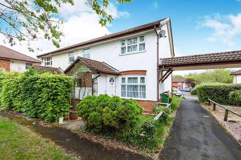1 Bedroom Semi Detached House for sale in Constantine Way, Basingstoke, Hampshire, RG22