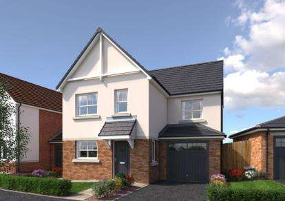 3 Bedrooms Detached House for sale in Cae Celyn, Maes Gwern, Mold, Flintshire, CH7