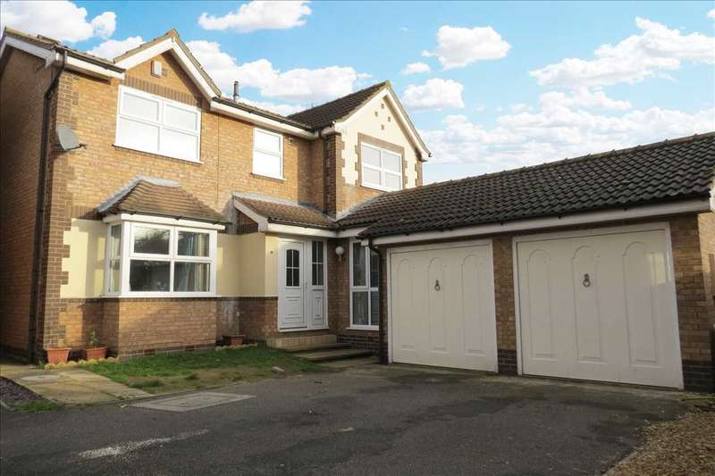 4 Bedrooms Detached House for sale in Taunton Close, Sleaford