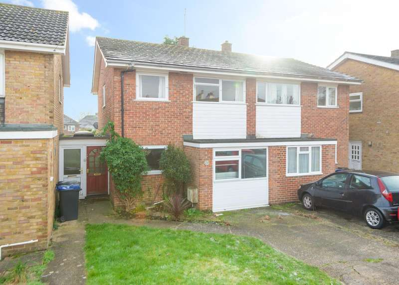 3 Bedrooms Semi Detached House for sale in Mead Way, Canterbury, CT2