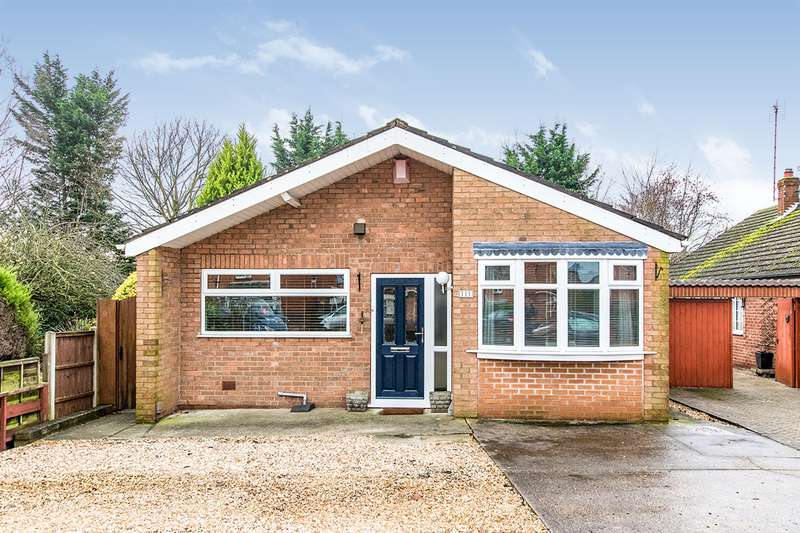 3 Bedrooms Detached Bungalow for sale in Skellingthorpe Road, Lincoln, Lincolnshire, LN6