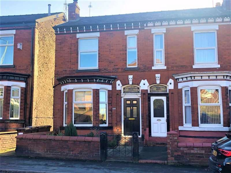 3 Bedrooms End Of Terrace House for sale in Stockport Road West, Bredbury, Stockport