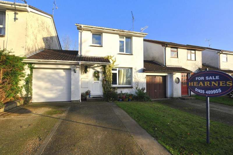 3 Bedrooms Link Detached House for sale in Ringwood, BH24 1XY