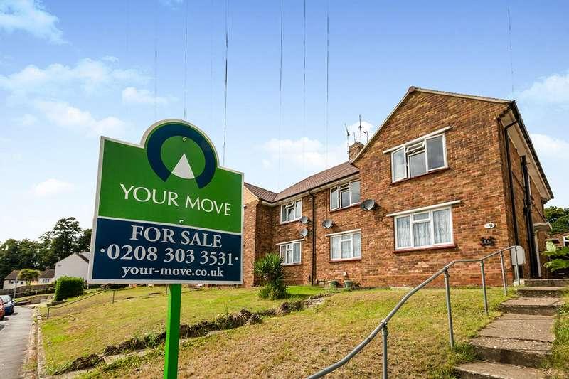 2 Bedrooms Maisonette Flat for sale in Marden Crescent, Bexley, Kent, DA5