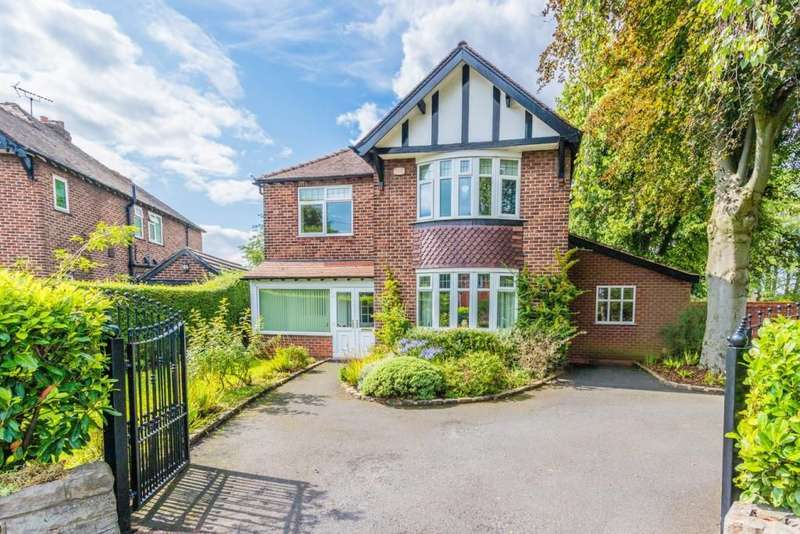 4 Bedrooms Detached House for sale in Offerton Road, Hazel Grove, Stockport, SK7 4NJ