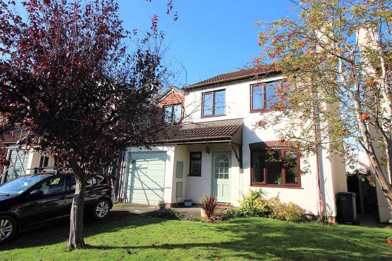 4 Bedrooms Detached House for sale in Primrose Drive, Thornbury, BS35 1UP
